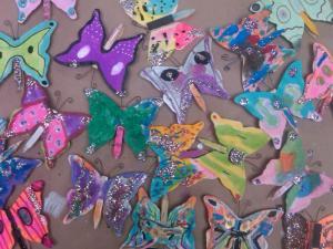 Stumptown Art Studio Butterflies