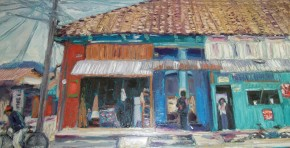 Oil Painting, David Wilson