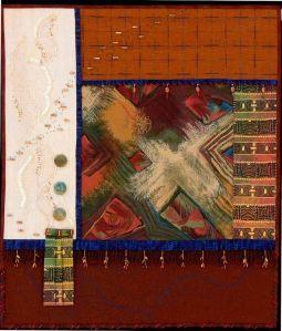Art quilt by Heidi Zielinski