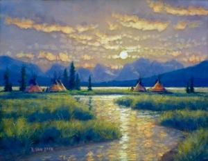 Randy Van Beek, Paintings