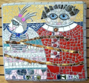 Lady Mosaic by Deb Stika