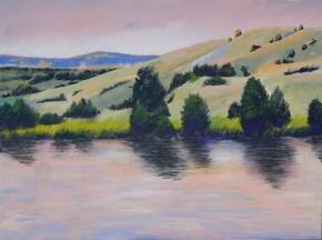 Dennis Johnson painting